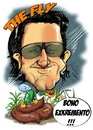 Cartoon: Bono Vox (small) by Martin Hron tagged bono vox