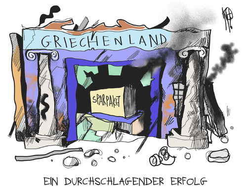 Proteste in Griechenland