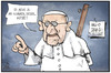 Cartoon: Götze beim Papst (small) by Kostas Koufogiorgos tagged karikatur,koufogiorgos,illustration,cartoon,goetze,papst,argentinien,deutschland,wm,torschütze,pergoglio,audienz,sport,religion