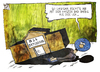 Cartoon: NSA-Datenbank (small) by Kostas Koufogiorgos tagged nsa,welt,usa,spionage,prism,datenbank,bad,bank,geheimdienst,terrorabwehr,karikatur,illustration,cartoon,koufogiorgos