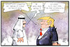 Cartoon: Trump steht zu Saudi-Arabien (small) by Kostas Koufogiorgos tagged karikatur,koufogiorgos,illustration,cartoon,usa,saudi,arabien,trump,prinz,pressefreiheit,khashoggi,journalist,ermordung