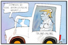 Cartoon: Trumps Weisheit (small) by Kostas Koufogiorgos tagged karikatur,koufogiorgos,illustration,cartoon,trump,trumpmobil,weisheit,tweet,unfehlbarkeit