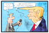 Cartoon: Wasserstoffbombe (small) by Kostas Koufogiorgos tagged karikatur,koufogiorgos,illustration,cartoon,wasserstoff,bombe,flut,wasser,usa,nordkorea,trump,reporter,journslist,interview,politik,konflikt