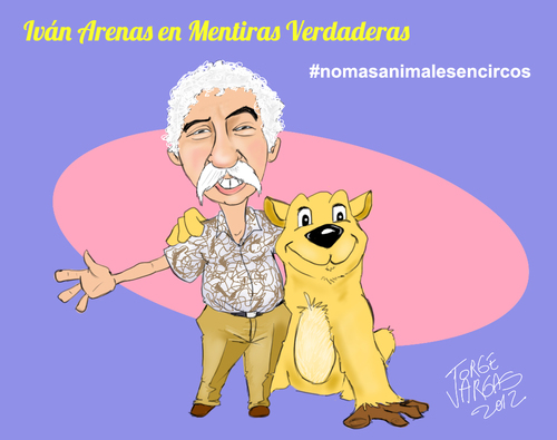 Cartoon: Ivan Arenas (medium) by Jorge Vargas tagged caricatura,cartoon
