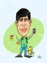Cartoon: Caricatura 1 (small) by Jorge Vargas tagged caricatura,cartoon,caicature