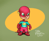 Cartoon: Little super hero (small) by Jorge Vargas tagged hero