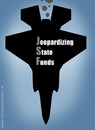 Cartoon: Joint strike fighter (small) by illustrator tagged jsf,joint,strike,fighter,plane,jet,military,funds