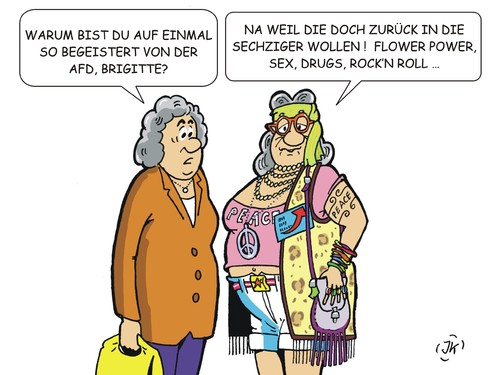 Cartoon: Brigitte (medium) by JotKa tagged politik,lifestyle,afd,sechziger,jahre,drugs,rockmusik,musik,hippies,flower,power,san,francisco,beatles,politik,lifestyle,afd,sechziger,jahre,sex,drugs,rockmusik,musik,hippies,flower,power,san,francisco,beatles