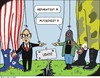 Cartoon: Anschuldigungen (small) by JotKa tagged usa,europa,russland,ukraine