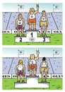 Cartoon: Olympic games (small) by JotKa tagged rio,olympic,games,olympische,spiele,ioc,doping,russland,sport,schwimmen,swimming,dopingskandal