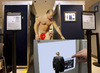 Cartoon: Presidential privacy (small) by azamponi tagged berlusconi body scanner privacy