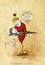 Cartoon: The Gin and the Girl (small) by CIGDEM DEMIR tagged girl,woman,gin,executioner,lamba