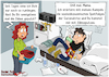 Cartoon: Chill mal (small) by karicartoons tagged chillen,jugend,jugendlicher,pubertät,chat,coronakrise,bett,liegen,smartphone,kommunikation,erziehung,mutter,und,sohn,soziale,medien,zuhause,bleiben,spätfolgen,familie,ausrede