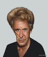 Cartoon: Al Pacino (small) by AkinYaman tagged al pacino