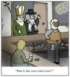 Cartoon: Some Kind of Joke (small) by Humoresque tagged bar,bars,pub,pubs,joke,jokes,pope,rabbi,rabbis,jew,jews,jewish,judaism,catholic,catholics,christian,christians,bartender,bartenders,bartending,religious,religions,priest,priests,clergy,cleric,clerics,clerical,faith,interfaith,faiths