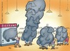 Cartoon: Elepfand (small) by Dodenhoff Cartoons tagged elefant,pfand,wertstoffe,pfandautomat