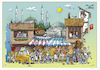 Cartoon: Ankara (small) by kurtu tagged ankara
