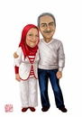 Cartoon: Love (small) by Amal Samir tagged love,woman,man,old,dad