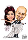 Cartoon: Wedding (small) by Amal Samir tagged wedding,man,lady,brid,groom,love