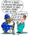 Cartoon: POLICE (small) by Mario Almaraz tagged policias