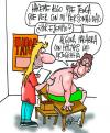 Cartoon: TATOO (small) by Mario Almaraz tagged dos,personas