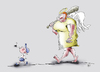 Cartoon: Guardian angel Schutzengel (small) by paraistvan tagged angel,guardian,kid,safety,protection