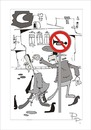 Cartoon: Traffic sign (small) by paraistvan tagged traffic sign cop trumpet