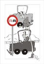 Cartoon: Traffic sign (small) by paraistvan tagged traffic sign overhead smart
