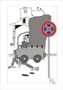 Cartoon: Traffic sign (small) by paraistvan tagged traffic sign on there