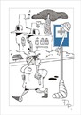 Cartoon: Traffic sign (small) by paraistvan tagged traffic sign hospital nurse