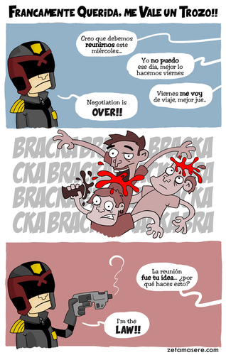 Cartoon: FQ!! x 10 (medium) by zyrkero tagged comic,cine,zyrkero