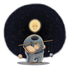 Cartoon: Mr. Solar (small) by Tobias Wieland tagged sonne,sun,astronomie,kepler,newton,physik,physics,solar,system,jupiter,sonnensystem,erde,earth,mond,moon