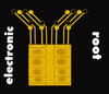 Cartoon: Electronic Root (small) by Marbez tagged chip,integrated,circuit,electronics
