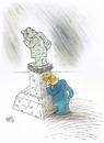 Cartoon: Overview of sculpture... (small) by kamil yavuz tagged see,sculpture