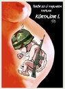 Cartoon: TERROR is abortion in the 20s!. (small) by Hilmi Simsek tagged terrör,abortion,kurtaj