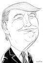 Cartoon: Donald J. Trump (small) by Jura Karikatura tagged donald,trump,president,of,the,united,states