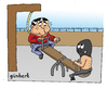 Cartoon: Executioner s way (small) by gunberk tagged death