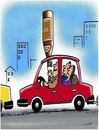 Cartoon: drinker and driver (small) by Medi Belortaja tagged drinker,driver,alcohol