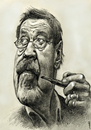 Cartoon: Günter Grass (small) by Medi Belortaja tagged günter,grass,nobel,prize,writer