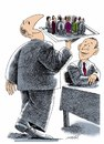 Cartoon: new staff (small) by Medi Belortaja tagged staff,take,slighty,bussiness