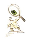 Cartoon: Eye Doctor (small) by Riemann tagged augen,arzt,eye,doctor,medizin,medical,health,care