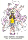 Cartoon: Radkasper Teil 2 (small) by Riemann tagged radfahrer,radrennen,fahrrad,rennrad,outfit,ausrüstung,fahrradhelm,reizwaesche,koerpercondom,sport,mode,clown,mallorca,bicycling,cartoon,george,riemann