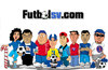 Cartoon: futbolsv.com (small) by atlacatl tagged caricature,futbol,sport