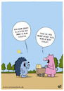 Cartoon: Grunzen (small) by luftzone tagged thomas,luft,cartoon,lustig,schlafen,igel,schwein,tiere,grunzen,kinderwagen