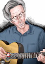 Cartoon: Eric - Slow Hand - Clapton (small) by A Tale tagged eric,clapton,spitzname,slow,hand,musiker,gitarrist,pop,rock,runder,geburtstag,karikatur,caricature,gesicht,porträt,bild,cartoon,pressezeichnung,illustration,tale,agostino,natale