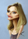 Cartoon: MICHELLE PFEIFFER (small) by besikdug tagged michelle,pfeiffer,besikdug,georgia,usa,hollywood