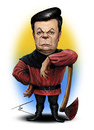 Cartoon: Viktor Yanukovich (small) by besikdug tagged viktor,yanukovich,ukraine,besikdug,prezident,georgia,caricature,cartoon,besik,dugashvili