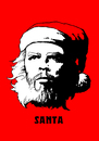 Cartoon: Santa-Che (small) by Alex Skibelsky tagged santa,claus,new,year,christmas,che,guevara,holiday,winter