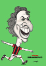Cartoon: ZLATAN IBRAHIMOVIC (small) by serkan surek tagged surekcartoons
