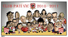 Cartoon: Club Pati Vic 2011 (small) by Xavi Caricatura tagged club pati vic roller hockey caricature caricatura cartoon hoquei patins patines